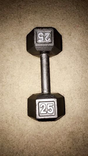 25 Pound Dumbbell for Sale in Sterling Heights, MI