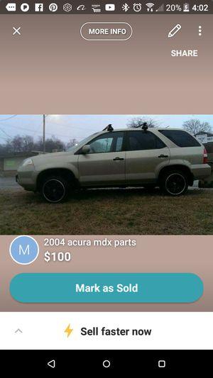2001acura mdx parts for Sale in Nashville, TN
