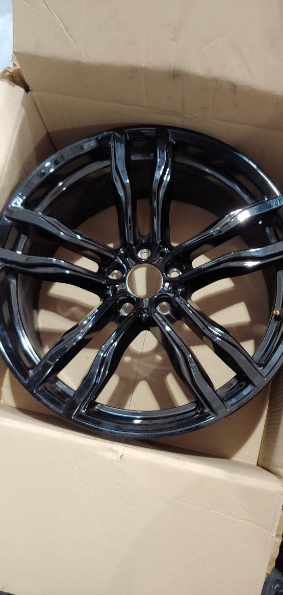 22inch Black Rim BMW
