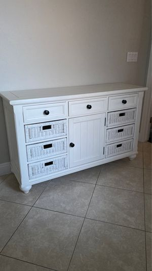 Farmhouse white sideboard for Sale in Las Vegas, NV