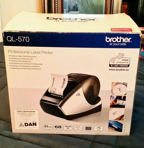 "New ""Brother Label Printer"" Never Used"