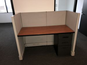 Office cubicle and file cabinet for Sale in Huntington Beach, CA