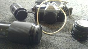 Canon camera and lenses for Sale in Hayward, CA