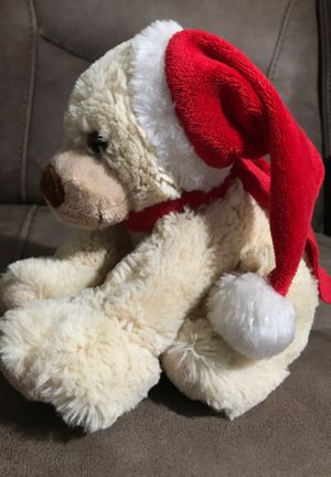 "8"" Xmas Dog beanbag stuffed animal $2 for Sale in Menifee, CA"