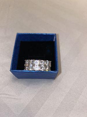 Diamond Tennis Ring - $20 for Sale in Atlanta, GA