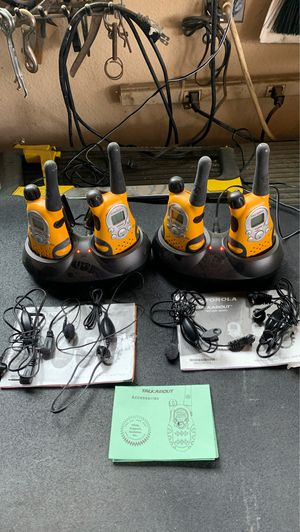 Talk about walkie talkies for Sale in Riverside, CA