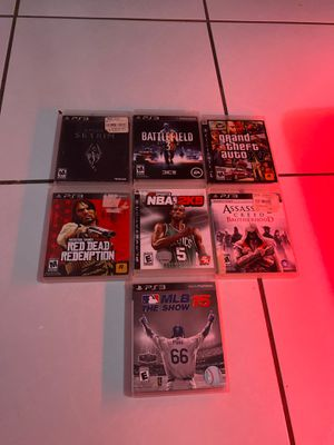 7 PS3 games for Sale in Fort Lauderdale, FL