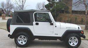 White 2005 Jeep Wrangler 4WDWheels for Sale in Washington, DC