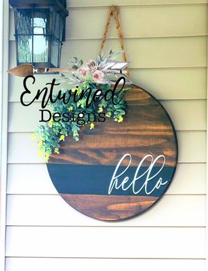 Hello/Welcome Sign for Sale in Gansevoort, NY