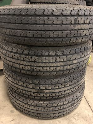 ST235/80/R16 Towmax Trailer Tires for Sale in Joliet, IL