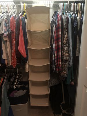 Hanging closet organizer for Sale in Boston, MA