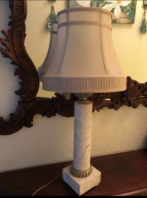 Real marble Lamp for Sale in Fort Lauderdale, FL