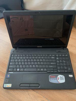 Toshiba Satellite C655D-S5300 Laptop (works, But Read. Description). for Sale in Glendale, CA