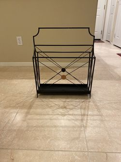 Magazine Rack/Record Holder for Sale in Carlsbad,  CA