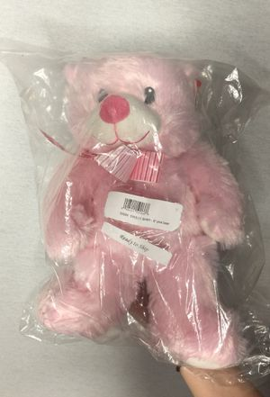 Brand New TY Pluffies My First Teddy Bear Sweet Baby Plush Stuffed Animal 8'' pink for Sale in Hacienda Heights, CA