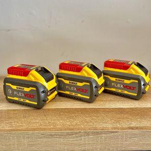 Flexvolt Batteries 9.0 Ah By Dewalt for Sale in Houston, TX