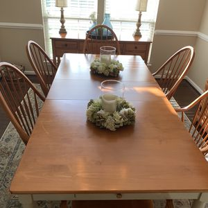 Solid cherry dining room set for Sale in Ashburn, VA