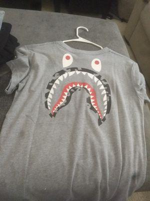Bape x Stussy shirt L for Sale in Carrollton, TX