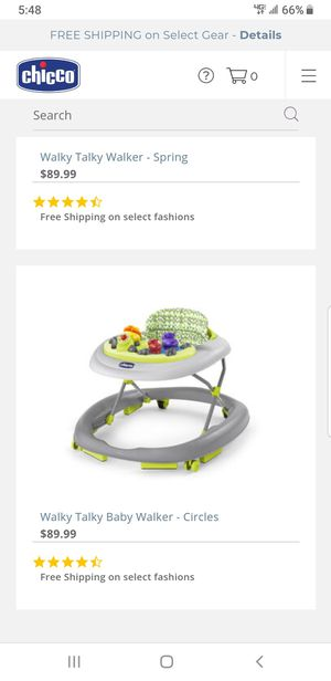 Chicco baby walker for Sale in Sunnyvale, CA
