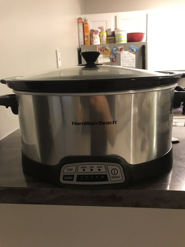 Hamilton Beach 7-Quart Slow Cooker