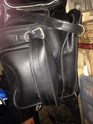 Leather bag for motorcycle for Sale in Lexington, VA