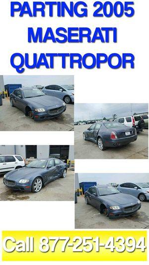 Maserati Quattropor ALL parts available for Sale in San Diego, CA