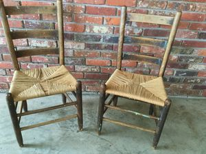 Antique cane chairs for Sale in Decatur, GA