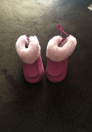 Infant/Toddler Girl Pink Ugg Boots for Sale in Savannah, GA