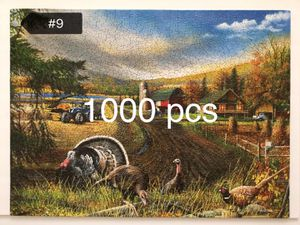 1000 pcs puzzles great family game for Sale in Roswell, GA