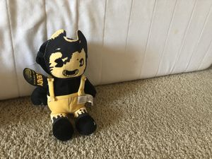 "Bendy and the Ink Machine ""Sammy Lawrence"" plushie for Sale in Las Vegas, NV"