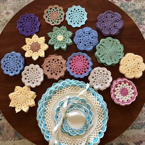 Handmade Crochet Coasters for Sale in Missouri City, TX