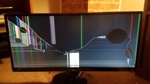 LG ultrawide gaming monitor - for parts for Sale in Hilliard, OH
