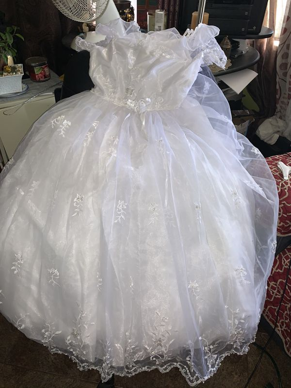 Flower Girl Dress or can be used for other occasions size 8