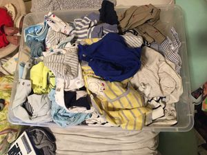 Free baby boy clothes 0-3m for Sale in San Francisco, CA