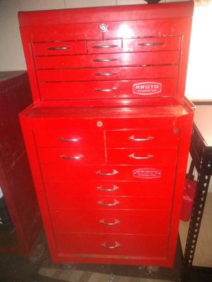 Proto Snap-On tool box with matching top box for Sale in Tacoma, WA