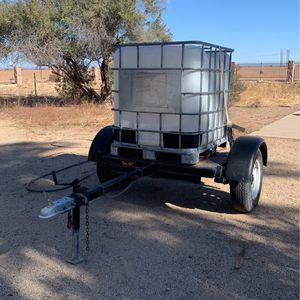 250 Gallon Water Trailer for Sale in Casa Grande, AZ