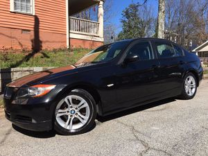 2008 BMW 328I Sedan, black, clean carfax no accidents low miles for Sale in Atlanta, GA