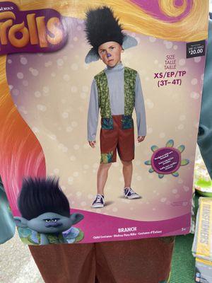 Trolls boy halloween costume size 3t-4T for Sale in San Diego, CA
