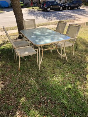 Outdoor patio furniture for Sale in Cedar Park, TX