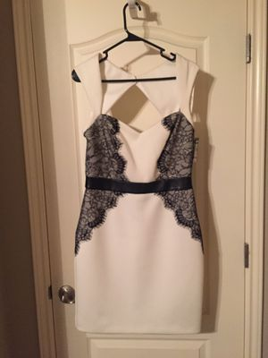 Calvin Klein black and white cocktail dress (size 10) - New with tags for Sale in Austin, TX