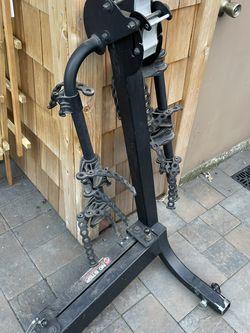 """Yamika Full Swing 4 Bike Rack - fits 2"""" tow hitch receiver - $250 (alameda) for Sale in Alameda,  CA"""
