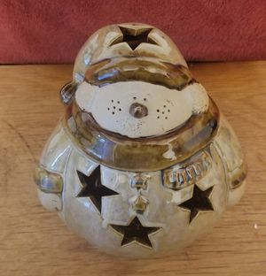 BEAUTIFUL SNOWMAN TEALIGHT CANDLE HOLDER for Sale in Oregon, OH