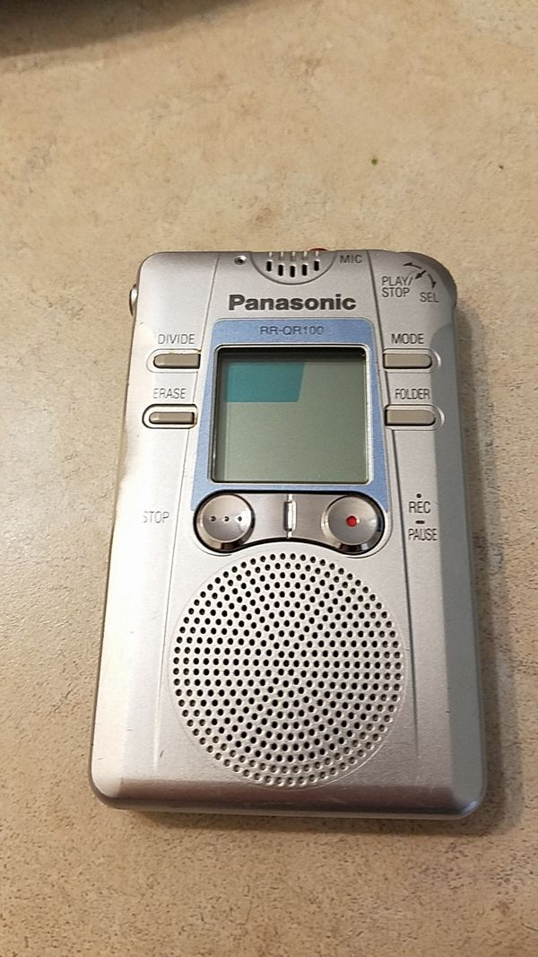 RARE - Panasonic RR-QR100 (EVP recorder/GhostHuntingDevice) for Sale in  Oceanside, CA - OfferUp