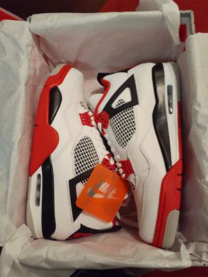 Jordan 4 Retro Fire Red - Sizes: 9.5,10, 10.5 for Sale in Pleasanton, CA