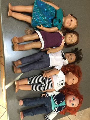 American Girl, Our Generation, Disney doll lot for Sale in Buena Park, CA