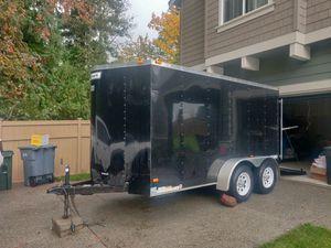 2014 Haulmark 7x14 v nose trailer! for Sale in Buckley, WA