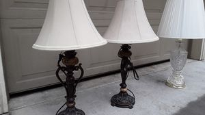 Table lamp shades lamps for Sale in Portland, OR