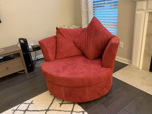 Red fabric sofa set for Sale in Westerville, OH