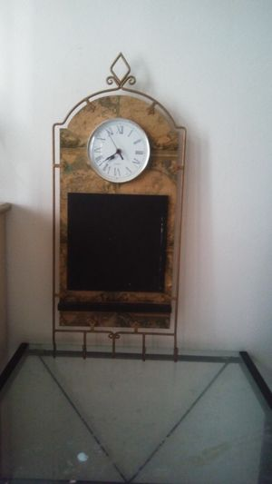 Antique atlas clock for Sale in Glendale, AZ