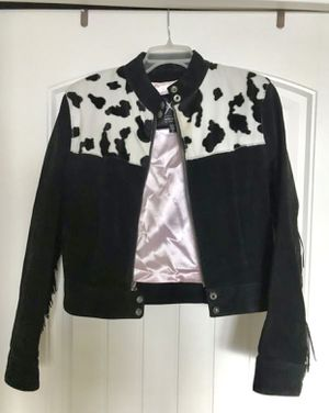 Vintage Western Fringe Jacket with pockets for Sale in North Miami, FL